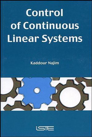Control of Continuous Linear Systems (1905209126) cover image