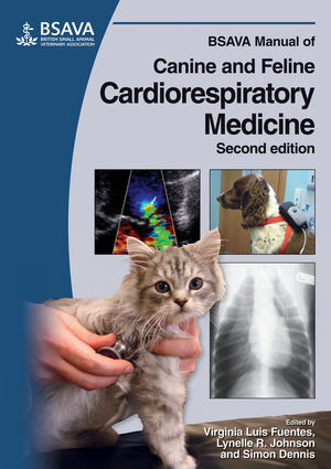 BSAVA Manual of Canine and Feline Cardiorespiratory Medicine, 2nd Edition (1905319126) cover image