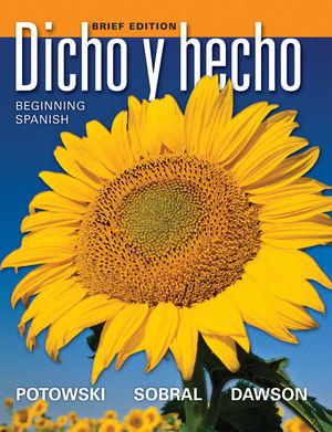 Dicho y hecho: Beginning Spanish, Brief Edition (EHEP001726) cover image