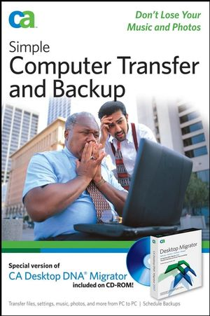 Simple Computer Transfer and Backup: Don't Lose your Music and Photos