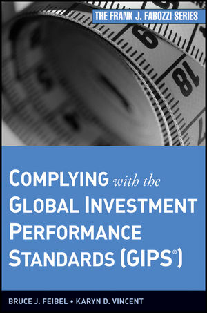 Complying with the Global Investment Performance Standards (GIPS) (0470400927) cover image