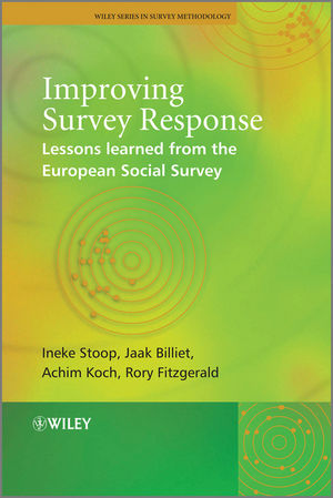 Improving Survey Response: Lessons Learned from the European Social Survey (0470688327) cover image