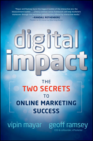 Digital Impact: The Two Secrets to Online Marketing Success (0470905727) cover image