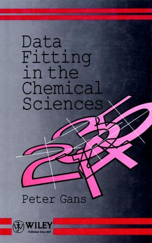 Data Fitting in the Chemical Sciences: By the Method of Least Squares (0471934127) cover image