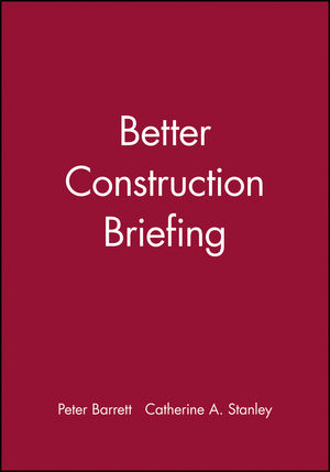 Better Construction Briefing (0632051027) cover image