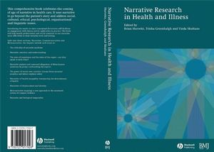 Narrative Research in Health and Illness (0727917927) cover image