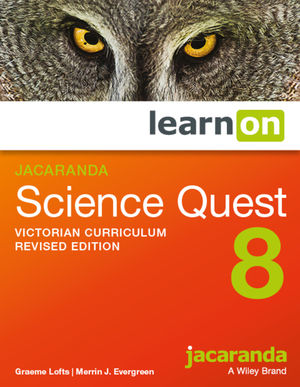 Jacaranda Science Quest 8 Victorian Curriculum LearnOn (Online Purchase)