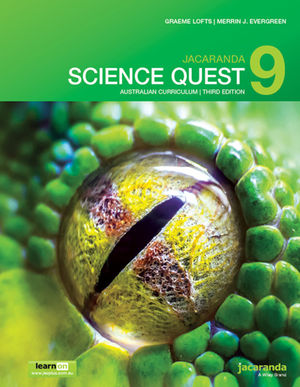 Jacaranda Science Quest 9 Australian Curriculum 3e learnON & Print