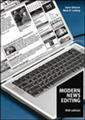 Modern News Editing, 5th Edition (0813807727) cover image
