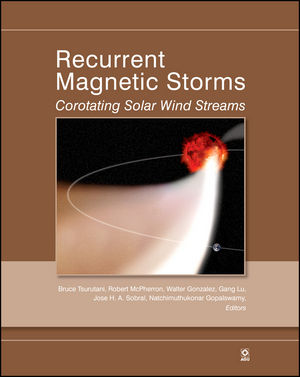 Recurrent Magnetic Storms: Corotating Solar Wind Streams, Volume 167 (0875904327) cover image