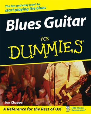 Blues Guitar For Dummies (1118050827) cover image