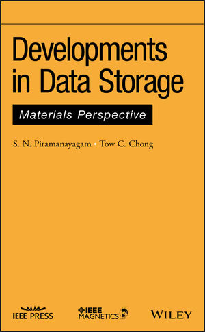 Developments in Data Storage: Materials Perspective (1118096827) cover image