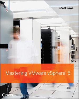 Mastering VMware vSphere 5 (1118180127) cover image