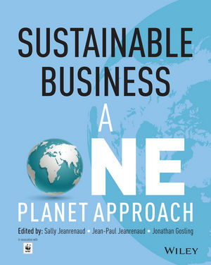 Sustainable Business: A One Planet Approach (1118522427) cover image