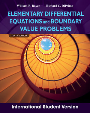 Elementary Differential Equations and Boundary Value Problems, 10th Edition International Student Version