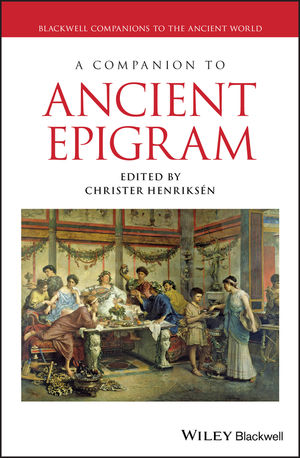 A Companion to Ancient Epigram