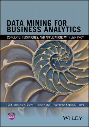 Data Mining for Business Analytics: Concepts, Techniques, and Applications with JMP Pro (1118877527) cover image