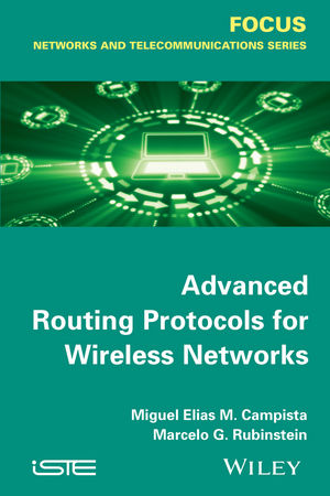 Advanced Routing Protocols for Wireless Networks (1118984927) cover image