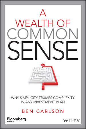 A Wealth of Common Sense: Why Simplicity Trumps Complexity in Any Investment Plan (1119024927) cover image