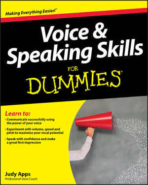Voice and Speaking Skills For Dummies (1119945127) cover image