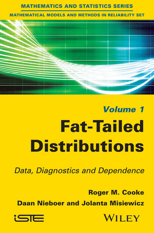 Fat-Tailed Distributions: Data, Diagnostics and Dependence (1848217927) cover image