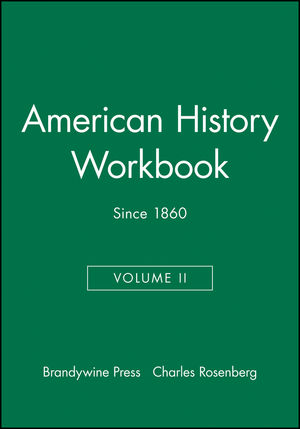 American History Workbook, Volume II: Since 1860 (1881089827) cover image