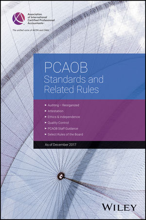 PCAOB Standards and Related Rules: 2017