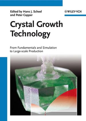 Crystal Growth Technology: From Fundamentals and Simulation to Large-scale Production (3527317627) cover image