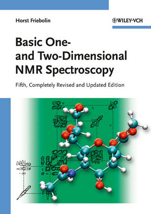 Basic One- and Two-Dimensional NMR Spectroscopy, 5th, Completely Revised and Updated Edition (3527327827) cover image