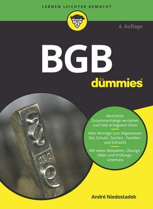 BGB für Dummies, 4. Auflage