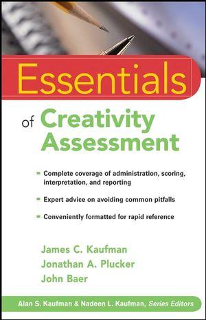 Essentials of Creativity Assessment