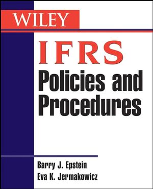 IFRS Policies and Procedures  (0470275928) cover image