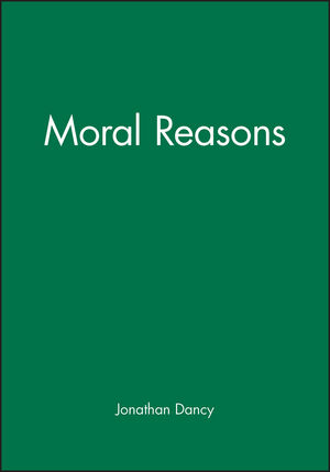 Moral Reasons (0631187928) cover image