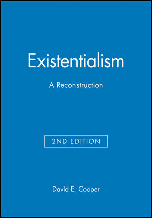 Existentialism: A Reconstruction, 2nd Edition (0631213228) cover image