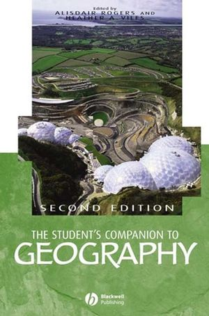 The Student's Companion to Geography, 2nd Edition (0631221328) cover image
