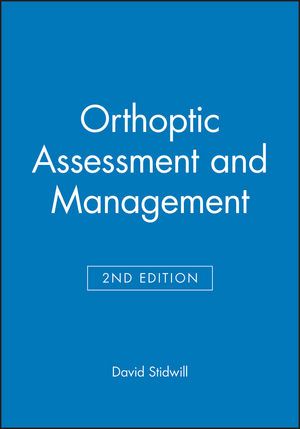 Orthoptic Assessment and Management, 2nd Edition (0632050128) cover image