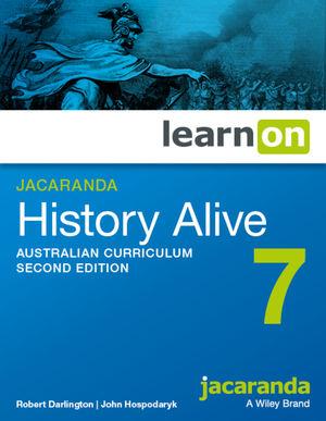 Jacaranda History Alive 7 Australian Curriculum 2e learnON (Codes Emailed)