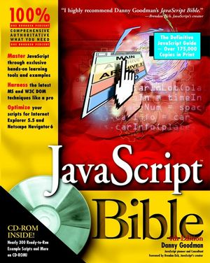 JavaScript Bible , 4th Edition (0764533428) cover image