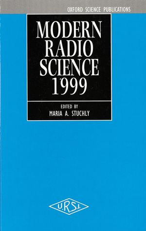 Modern Radio Science 1999  (0780360028) cover image