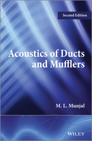 Acoustics of Ducts and Mufflers, 2nd Edition (1118443128) cover image