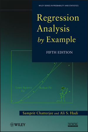 Regression Analysis by Example, 5th Edition (1118467728) cover image