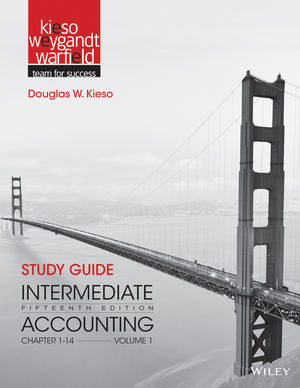 Study Guide to accompany Intermediate Accounting, Volume 1: Chapters 1 - 14, 15th Edition