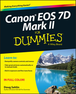 Canon EOS 7D Mark II For Dummies (1119049628) cover image