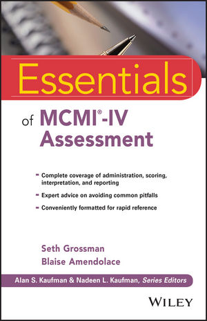 Book Cover Image for Essentials of MCMI-IV Assessment