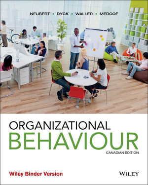 Organizational Behaviour, Canadian Edition