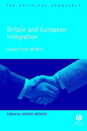 Britain and European Integration: Views from Within (1405126728) cover image