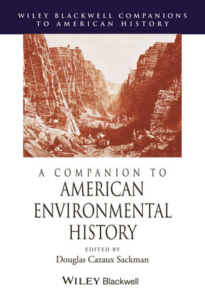 A Companion to American Environmental History (1444323628) cover image