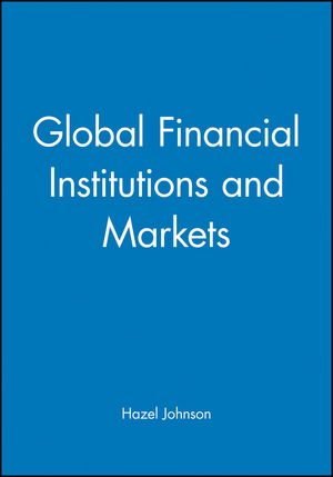 Global Financial Institutions and Markets (1557869928) cover image