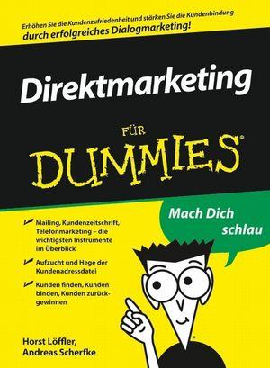 Dialogmarketing für Dummies (3527638628) cover image