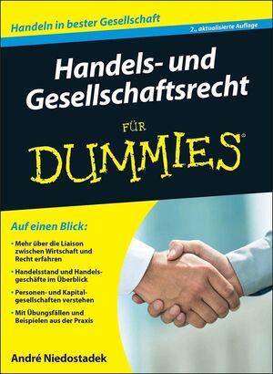 Handels- und Gesellschaftsrecht für Dummies, 2. Auflage